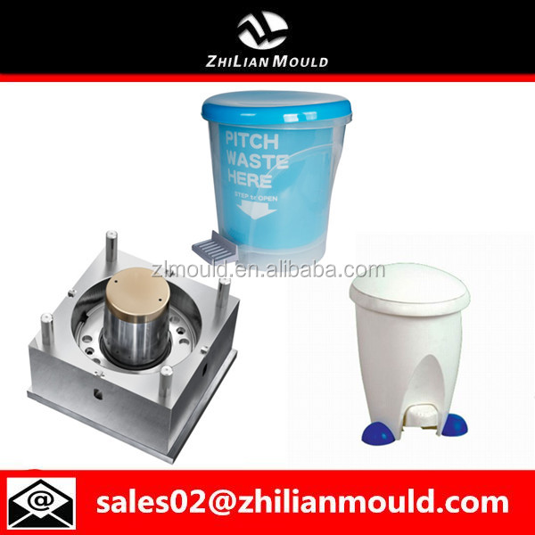 Factory Supply Step on Garbage Cans Mould Design