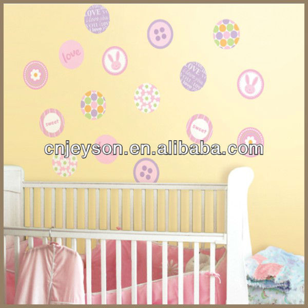 Non-toxic removable kid wall stiker