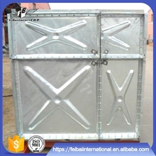 wholesale galvanized water tank+tower/1.22*1.22m steel panel