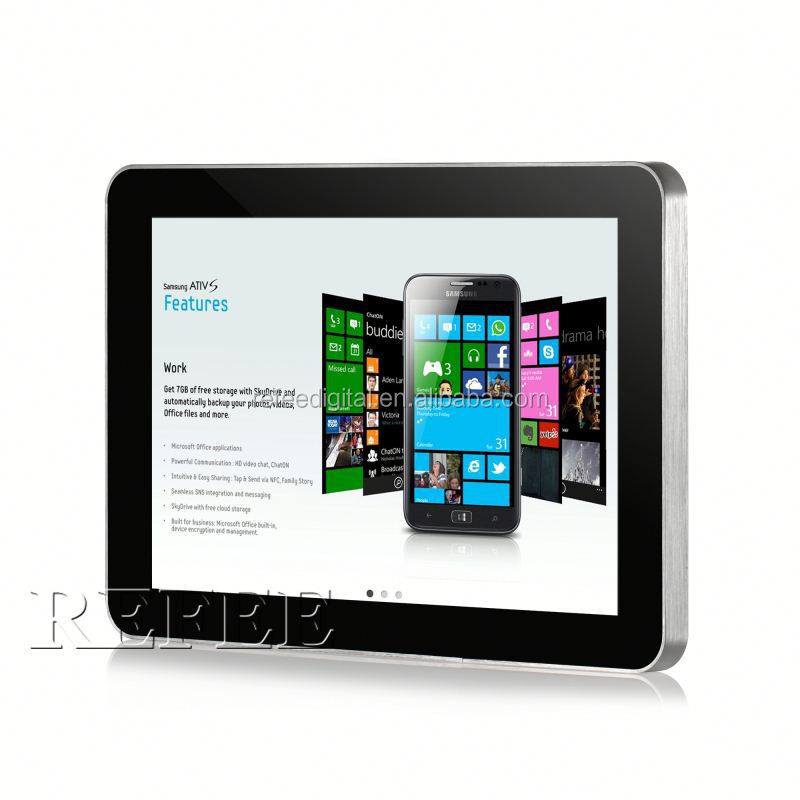 10 inch wifi/3g wall transparent lcd panel