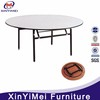 hotel furniture banquet folding table wood