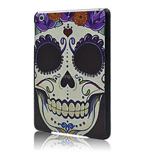New Designed Skull case for ipad mini, Hard Shell cover case for ipad mini 2