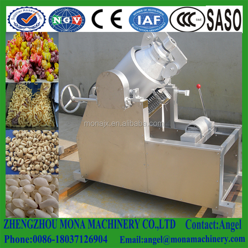 Rice/corn wheat and other grain quinoa puffing machine/Large airflow Extruder