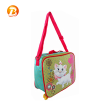 Small Kids Durable Insulated Cooler Children Lunch Bag With Shoulder Straps