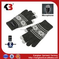 2017 Newest Bluetooth talking glove hello gloves