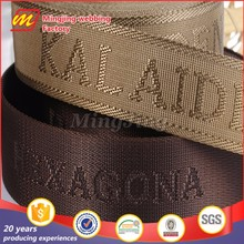 Custom printed nylon webbing for Garment