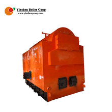 Factory Price DZL horizontal coal fired rice husk 4t/h steam boiler