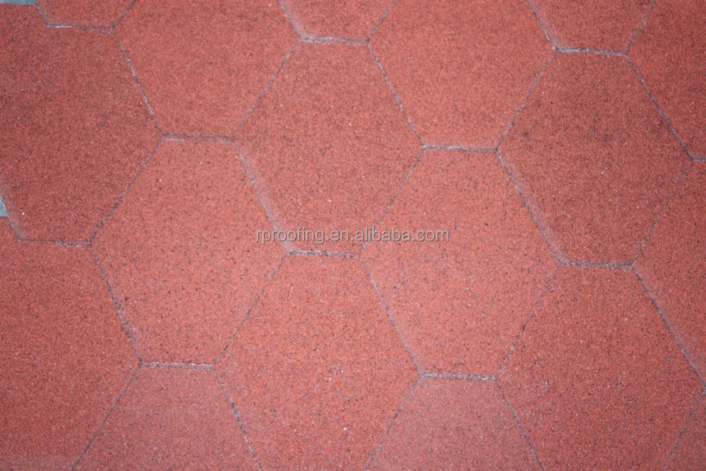 mosaic asphalt roof tiles made in china