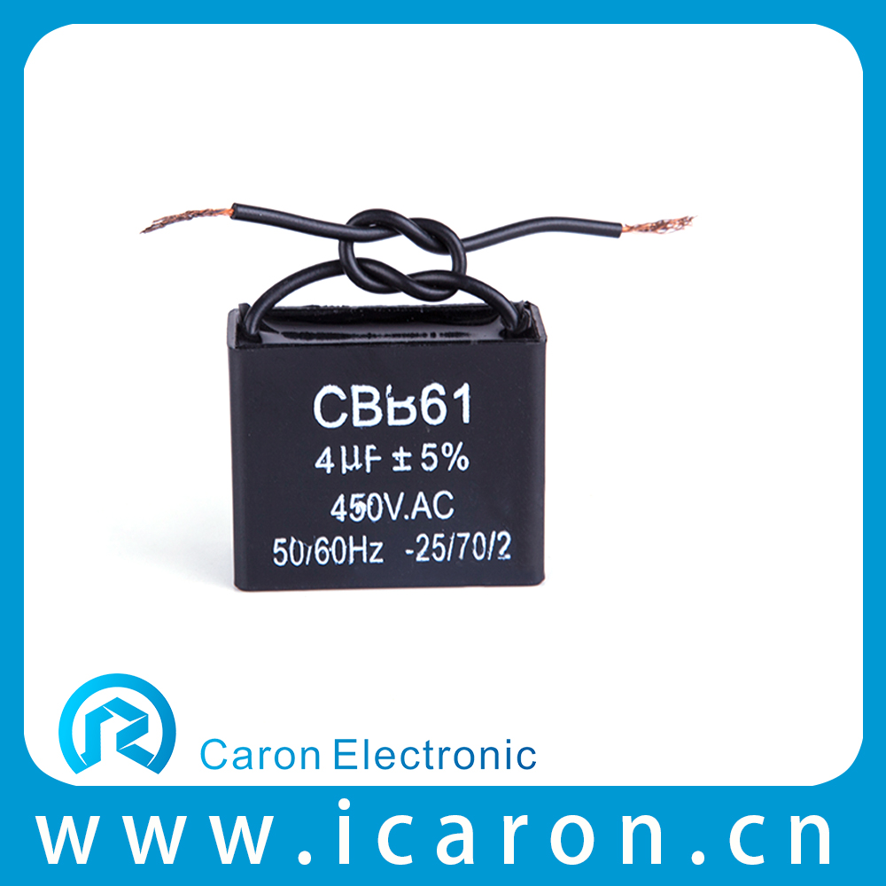 Fan capacitor New Product Top Quality Cbb61 Sh Polypropylene Capacitor