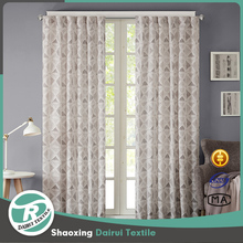 Luxury curtain design Russian restaurant cafe polyester print dolly curtain