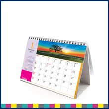 Wholesale Cheap Custom Handmade English Islamic Table Desk Calendar