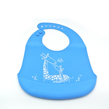 New Products ideas 2018 Absorbent 빈 키 빈 방수 실리콘 두건 드룰 Baby Bibs