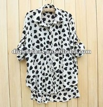 ladies 2012 high quality new style blouse