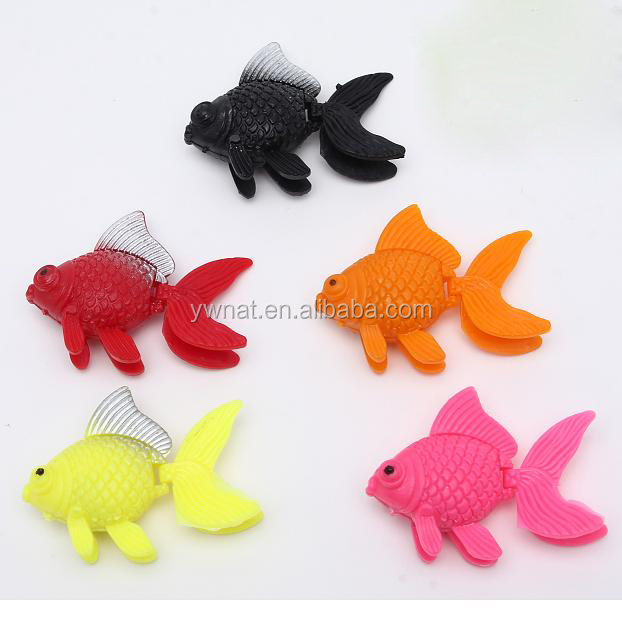 Aquarium Artificial Floating Plastic Fish,Plastic Gold Fish