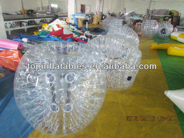 PVC/TPU inflatable football soccer balls from GZ TOP