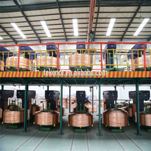 Copper Wire Automatic Machinery / Copper Rod Upward Continuous Casting Line