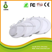China led suspended ceiling light 4w slim round led panel downlight for indoor