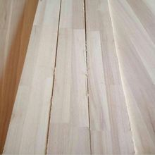 Primed Finger Joint Trim Panel Paulownia Boards Wood Timber