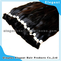 wholesale unprocessed silky straight Indian human virgin hair bulk with high quality