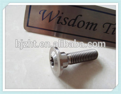 Factory direct sale flanged titanium nut with high performance