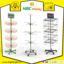 retail 4 sided rotating display stand