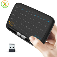 H18 mini keyboard for x96 smart android tv box 2.4G wireless air mouse chargable i8