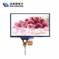 2015 new products 9 inch capacitive touch panel / 9 inch capacitive touch screen with IIC interface