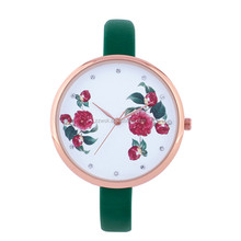 2018 Hot 3D dial Fashion Lady watch for Accessary Promotion