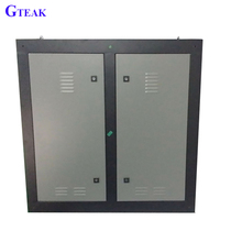 p10 waterproof led display cabinet outdoor