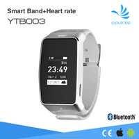 best smart band with pedometer,heart rate monitor round smart bracelet buletooth