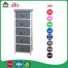 Home Decor Toy 5 Tier Small Non-woven Cabinet And Chest