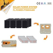 7500va 48V off grid hybrid solar power system, green energy for free electricity for home system