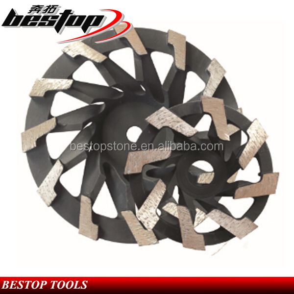 Cup Shape Diamond Cutting Wheel for Granite and Marble Polishing and Grinding