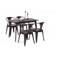 Cheap Used Table And For Restaurant Furniture Dining Industrial Chair