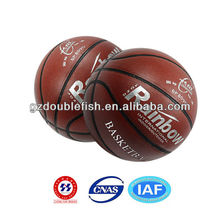 small rubber basketball