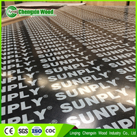 Film faced shuttering plywood, 18mmx4x8, WBP glue, high quality film faced plywood