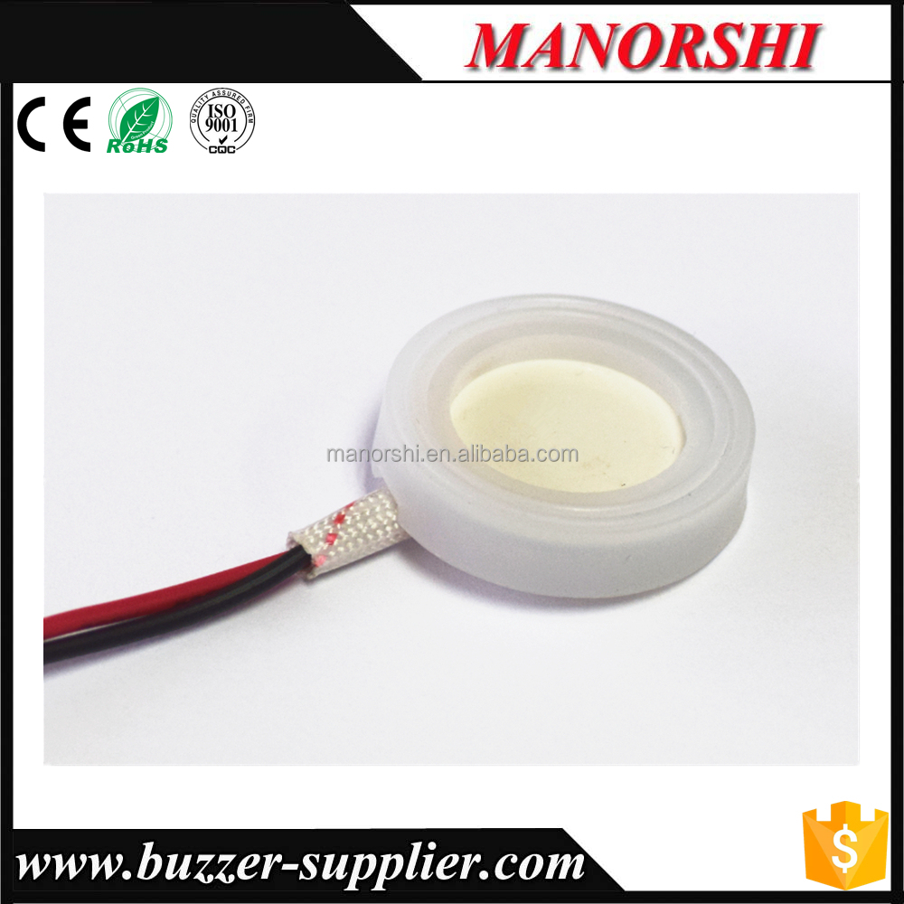 PZT-5 Ceramics rubber ring ultrasonic Piezo Transducer for Humidifier