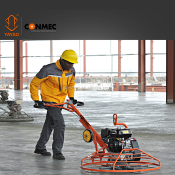 HOT SELLER!WALK BEHIND CONCRETE POWER TROWEL CT436 WITH TROLLEY WHEEL AND CE CERTIFICATE FOR SALE