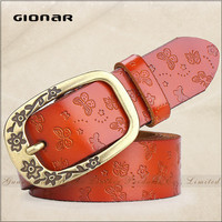 Taobao Hot-selling Vintage Leather Lady Jeans Slim Belt for Women After Pregnancy