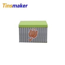 Wholesale high quality tea metal tin packaging box