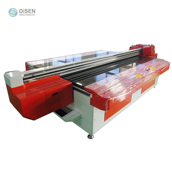 Factory wholesale spot 2.5M*1.3M UV glass printing machine