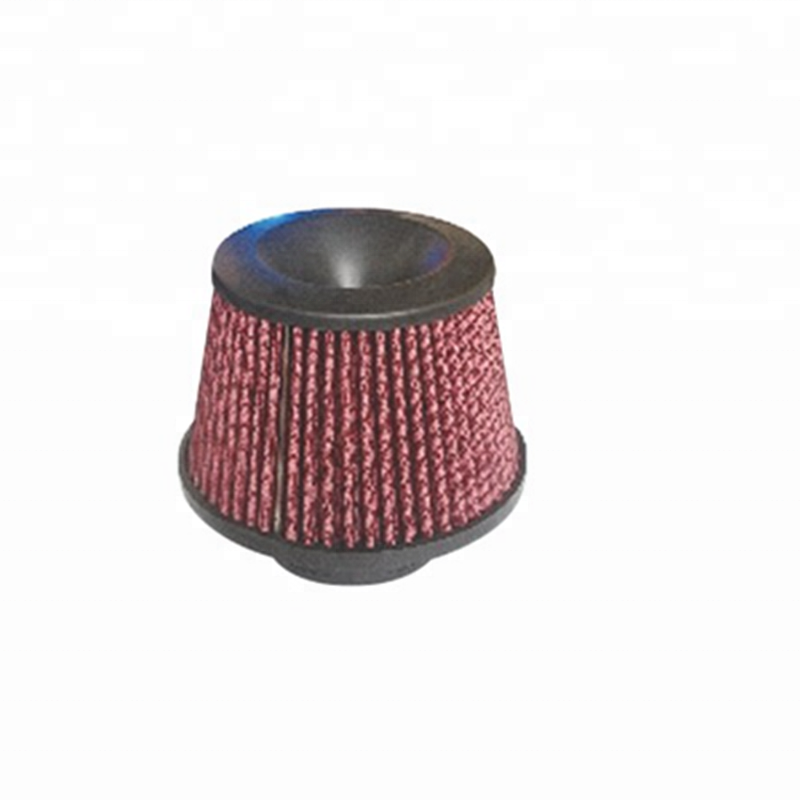 Red 76mm Universal <strong>Racing</strong> Air Filter Necessary Kits / High <strong>Performance</strong> Car Air intake Filters JBR8034