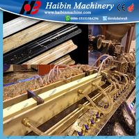 pvc faux marble sheet extrusion line pvc stone plastic profile extrusion machinery