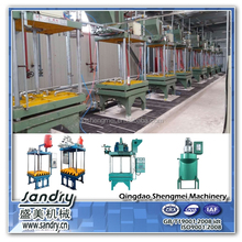 Lost foam casting molding line for ductile iron