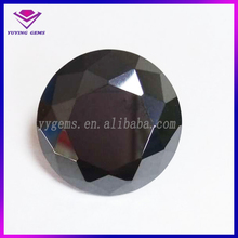 Alibaba China accessories names black precious round shape cz stones for engagement rings jewelry
