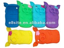 3D Private Pig Silicone Protective Covers For BlackBerry 8520 Curve