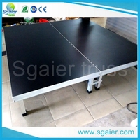 portable aluminum stage platform for stage decoration ideas in alibaba STAGE factory