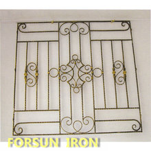 Cast Iron Safety WIndow for Wrought Iron Window Grill Design