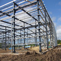 High quality steel frame structure building in china