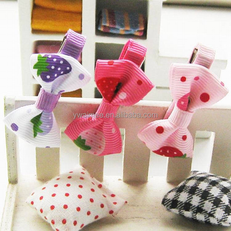 2014 Yiwu Aimee wholesale bow tie clip hair accessories,hair bow clip(AM-JJ-06)